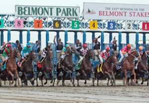 At the Starting Gate, Belmont Park, 06.09.2012