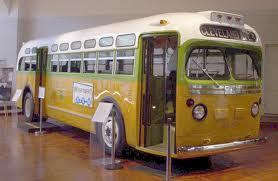 The Rosa Parks Bus, courtesy of the Henry Ford Museum