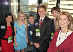 Team Members & AZ Supporters just before national presentation (Left to right: Rachel Fisher, Cambrie Hickman, Jeremy Graunke, Timothy Graunke, Jesse Friedman, and Robin Hickman)