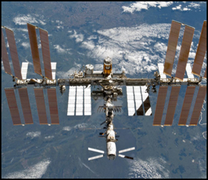 International Space Station, 03.04.2011 (Source: NASA Photos)