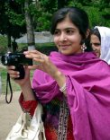 Photo of Malala Yousafzai, New York Times, 02.08.2013