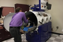 Hyperbaric Chamber for Animals (Source: University of Florida)