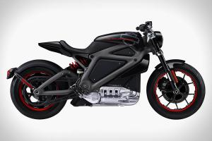 Image of Project LiveWire Motorcycle (Source: Harley-Davidson)