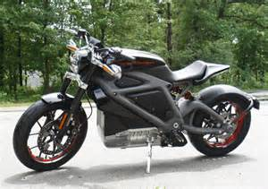 Project LiveWire Prototype Electric Motorcycle (Source: Harley-Davidson)