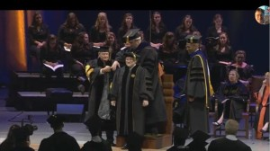 Conferring of PhD in Engineering Education to Anne Lucietto Purdue University, West Lafayette, IN (August 2014)