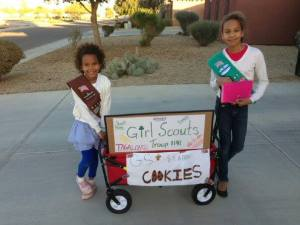 Girl Scout Troop 1141 Cookie Wagon
