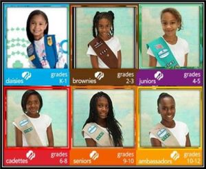 Girl Scout Troop 1141, First Institutional Baptist Church, Phoenix, AZ