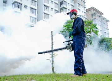 Mosquito-Fogging-Zika-Virus